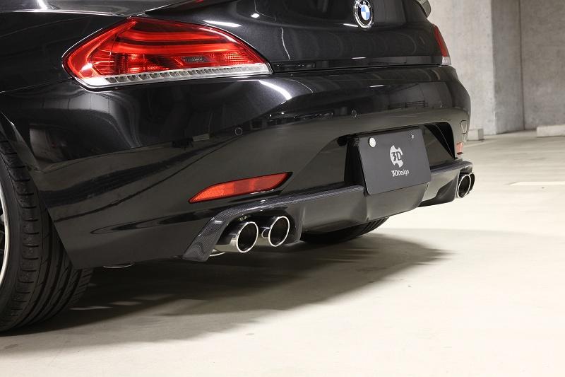 Mwdesign 3d Design E89 Z4 Cf Quad Rear Diffuser Rear